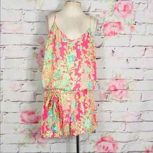 Pink Lilly Pulitzer Romper